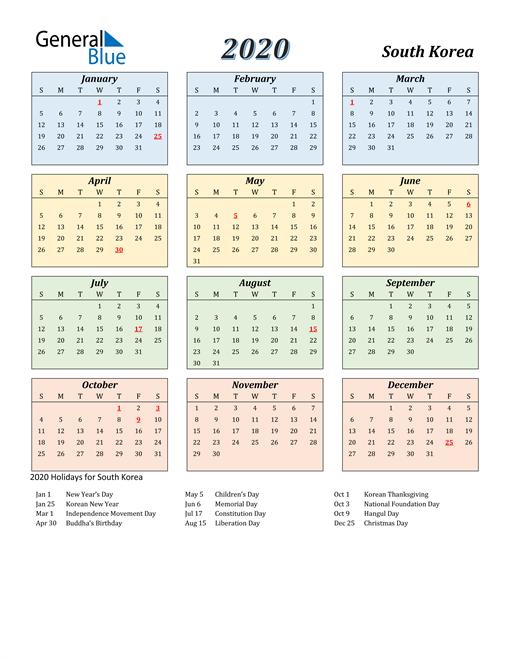 2020-calendar-streamlined-colored-with-holidays-portrait-en-kr-510x660